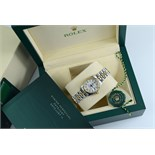 ROLEX *DIAMOND* LADY DATEJUST - GOLD & STEEL with JUBILEE STYLE DIAMOND DIAL