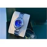 *Diamond* Rolex 'Lady' DateJust 26 - Blue Pearl