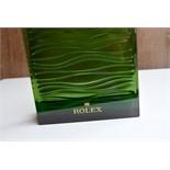 Rare Rolex Green Wave Design Dealer Shop Display