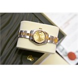 18k Gold & Steel Rolex DateJust - 'Champagne' Edition