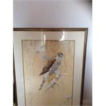 Large original watercolour signed David ord Kerr