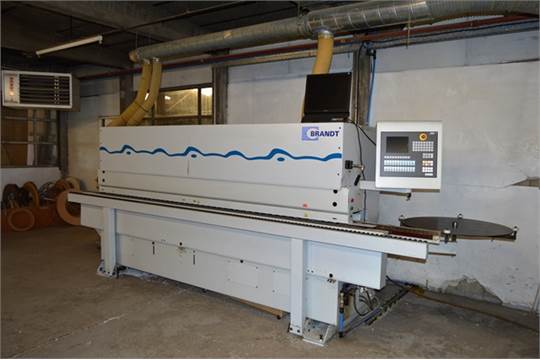 Brandt O KDF 530C (2005) Edge Banding Machine with Extractor