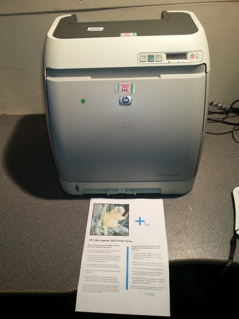 Hp color laserjet 3800 test page coloring pages for Hp printer color test page