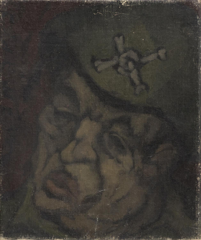 Lot 63 - ARTISTA DEL NOVECENTO Ritratto di uomo