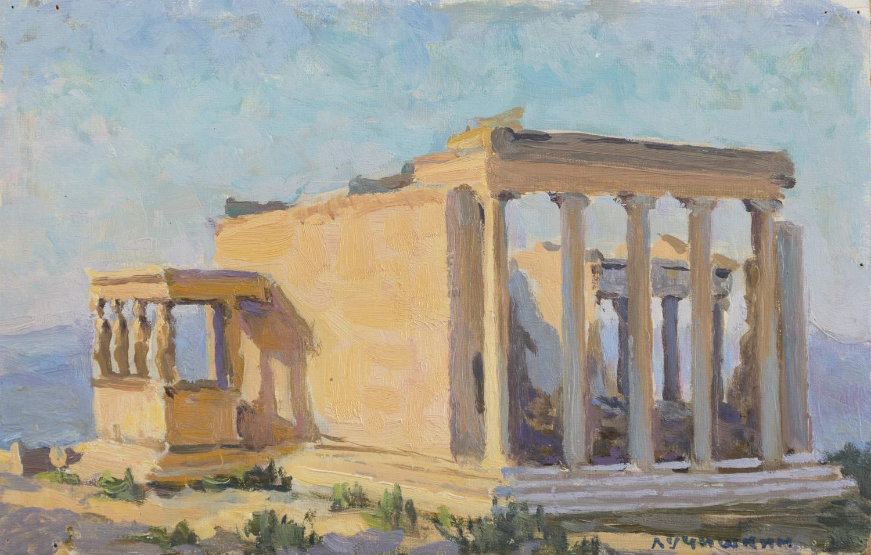 Lot 36 - SERGEI ALEKSEEVICH LUCHISHKIN (Mosca 1902 - 1989) Tempio