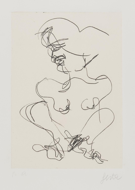 Lot 47 - TANO FESTA (Roma 1938 - 1988) Figura femminile