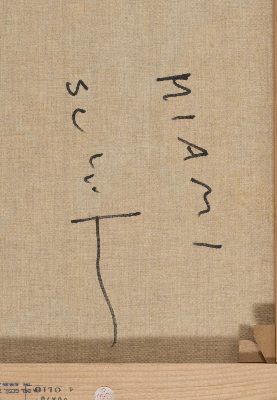 Lot 1 - MARIO SCHIFANO (Homs 1934 - Roma 1998) Miami, 1996