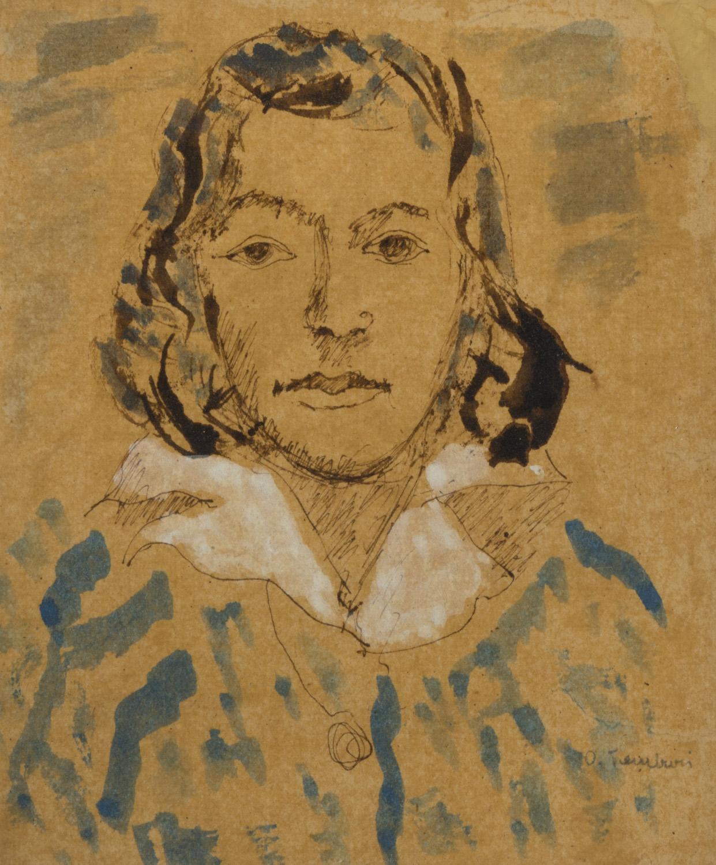 ORFEO TAMBURI (Jesi 1910 - Parigi 1994) Ritratto di donna