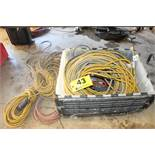 LARGE QTY OF EXTENSION CORDS