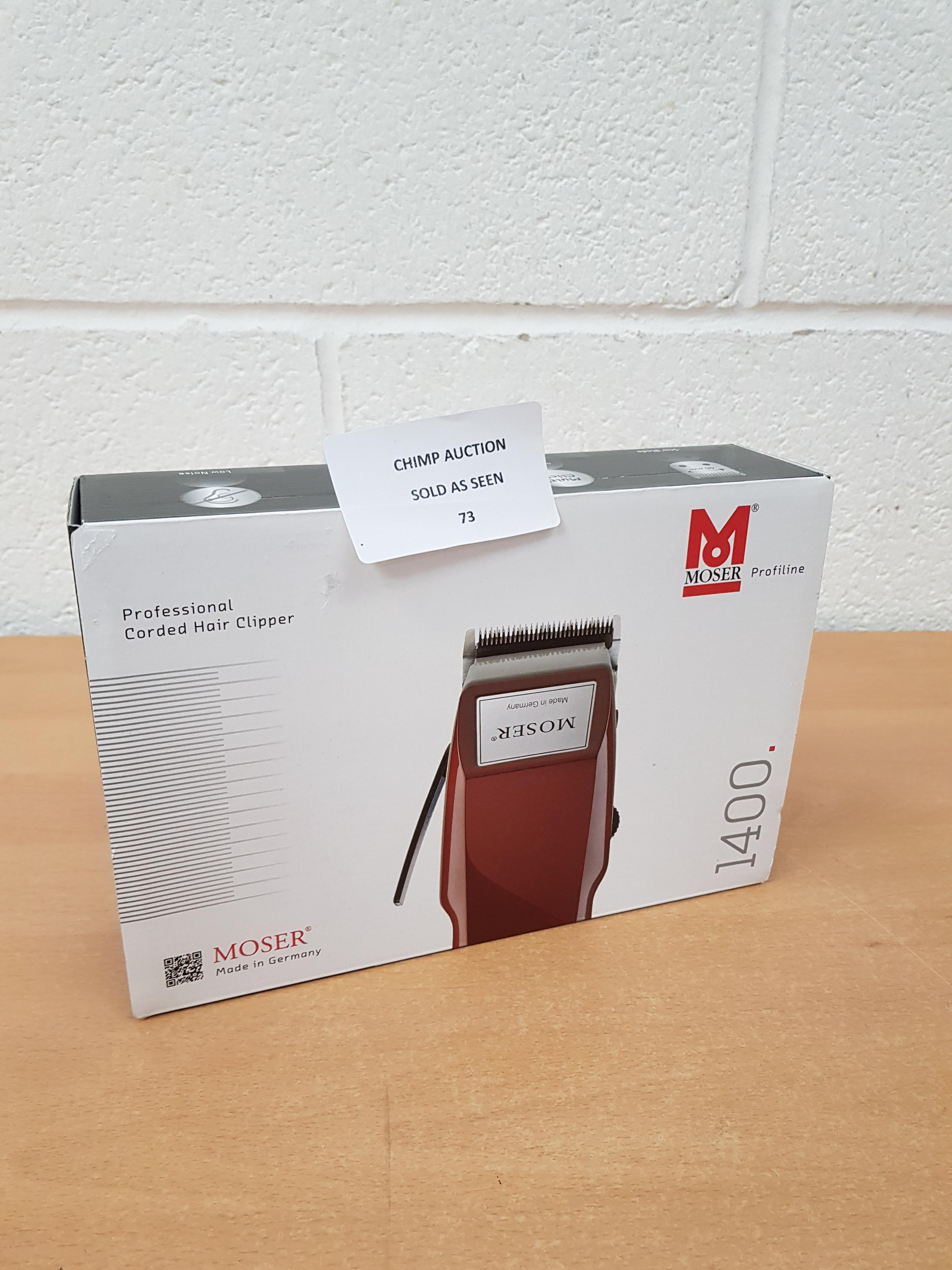 Lot 73 - Moser 1400/SET Edition Hair trimmer RRP £79.99