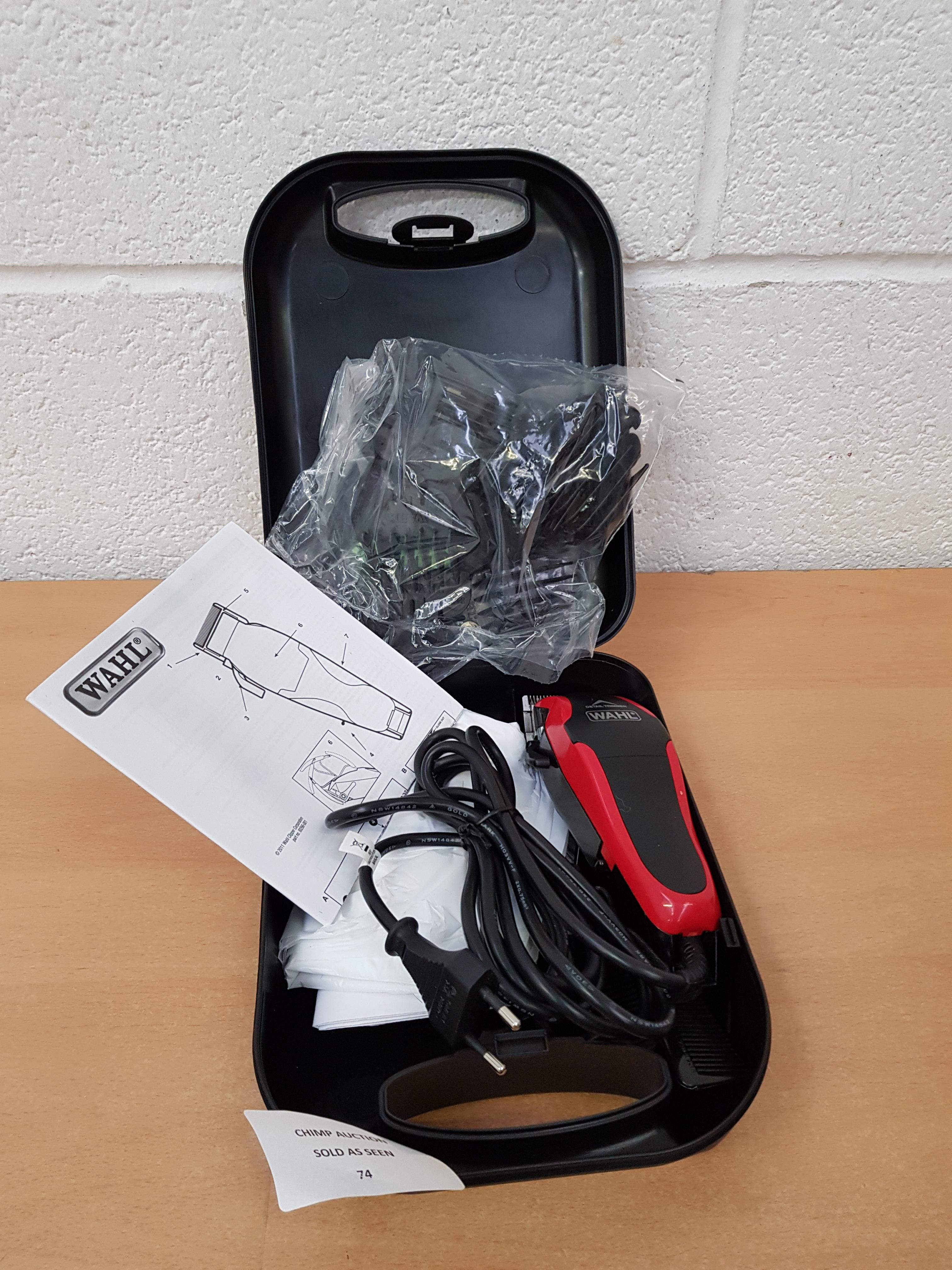 Lot 74 - Wahl Professional Detailer hair trimmer RRP £109.99.