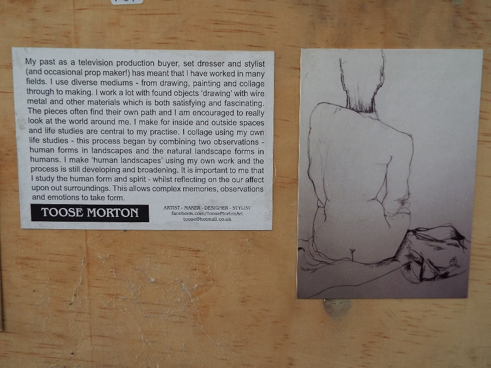 Toose Morton (20th/21st century) - 'The Orgy', signed and dated 2015 verso, further inscriptions - Image 3 of 3
