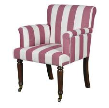 Lot 297 - Oxford Masters Dining Chair Boating Stripes In A Clever Collaboration, The University Of Oxford