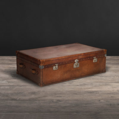 Lot 296 - Watson Trunk Galata Bruno Leather The Watson Collection Takes The Nostalgic Travel Trunk Of