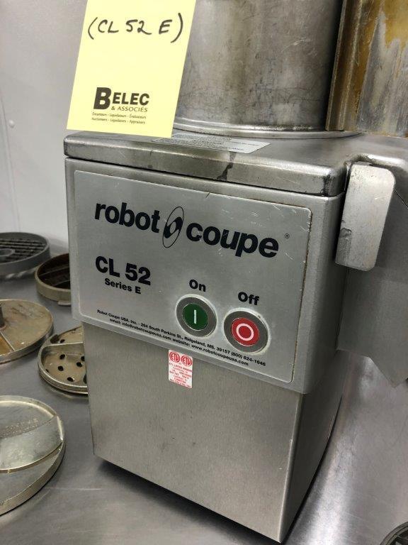 Lot 103 - ROBOT COUPE # CL 52 E - avec (16) mrx Lames etc