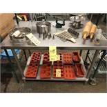 """Table de travail acier inox 48"""" x 30"""""""