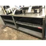 """Table de travail MKE acier inox 84"""" x 30"""""""