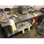 """Table de travail acier inox 60"""" x 30"""""""