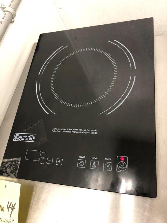 Plaque à induction EURODIB # P-3D, 1 rond