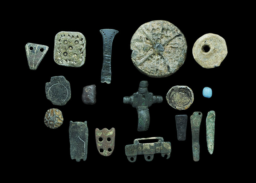 Lot 97 - Saxon and Viking Detector Finds Group