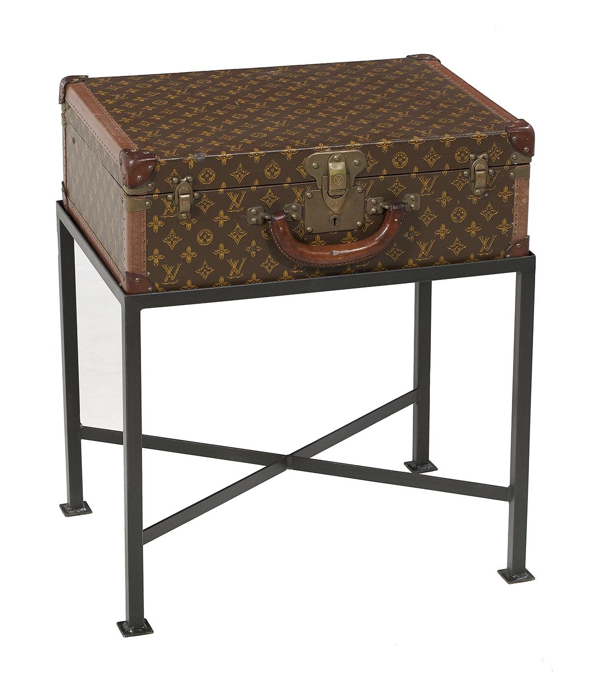Lot 781 - Vintage Louis Vuitton Suitcase