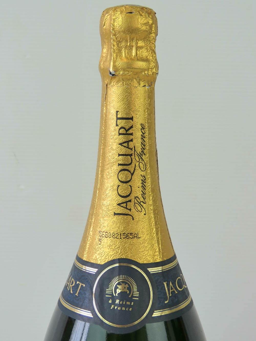Lot 474 - A rare commemorative Jacquart Reims (France) limited edition World Cup Magnum of champagne signed