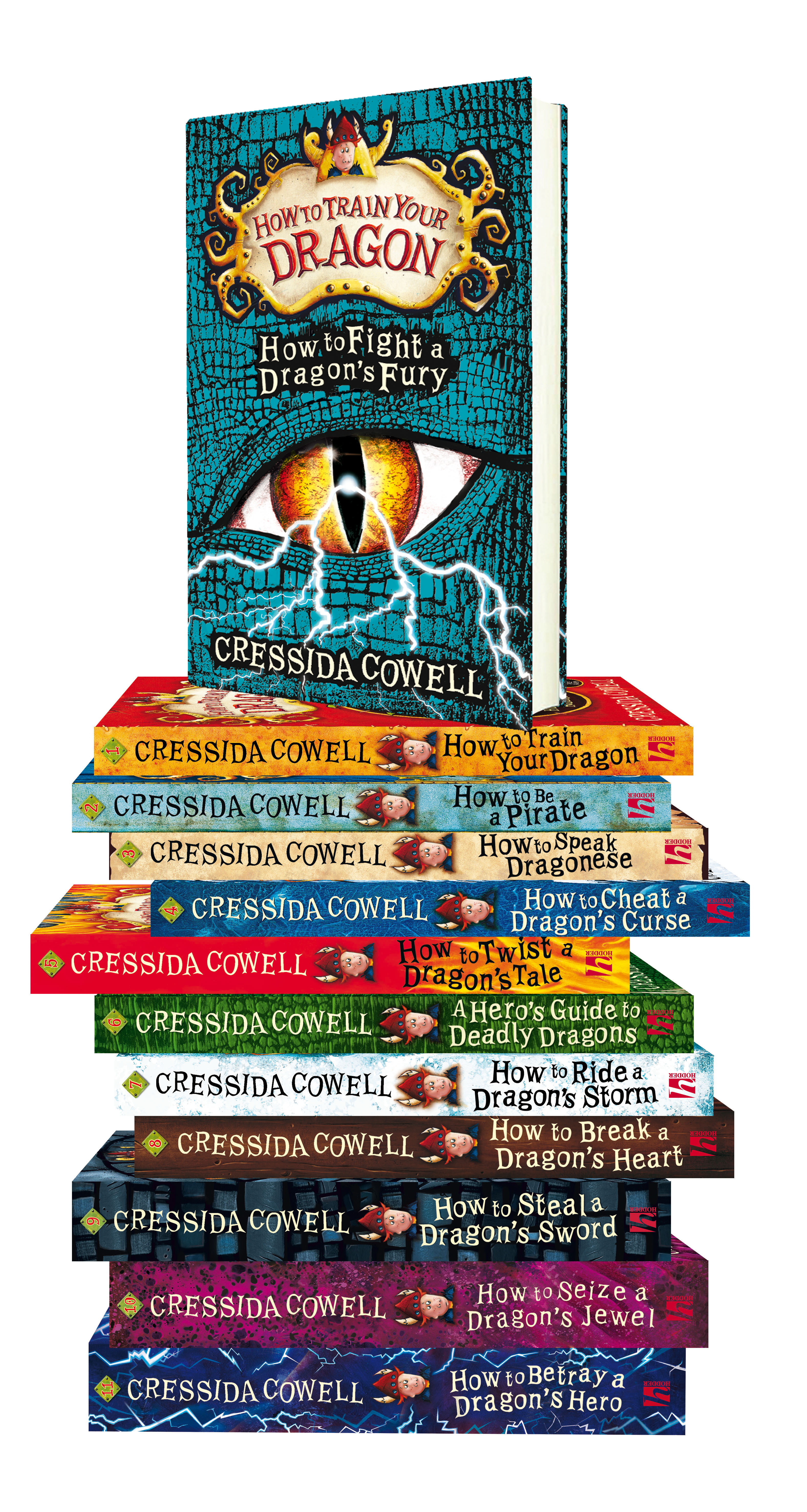 Lot 4 - Be part of a Cressida Cowell story, How to Train Your Dragon author/illustrator