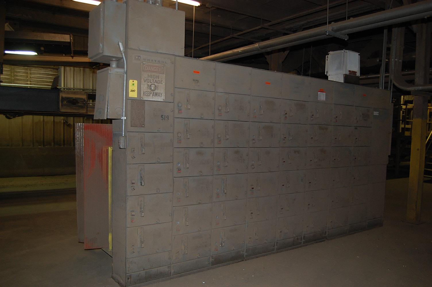 Cutler hammer unitrol motor control center rigging fee for Cutler hammer motor control center