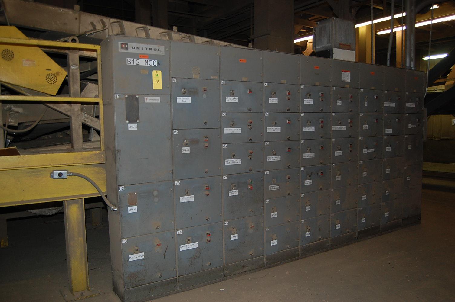 Cutler hammer unitrol motor control center id b12 mcc 2 for Cutler hammer motor control center