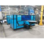 OTC WELDING CELL A/B TILT & ROTATE TABLES & TWO HEADSTOCK/TAILSTOCK WORK STATIONS INSTALLED 2016