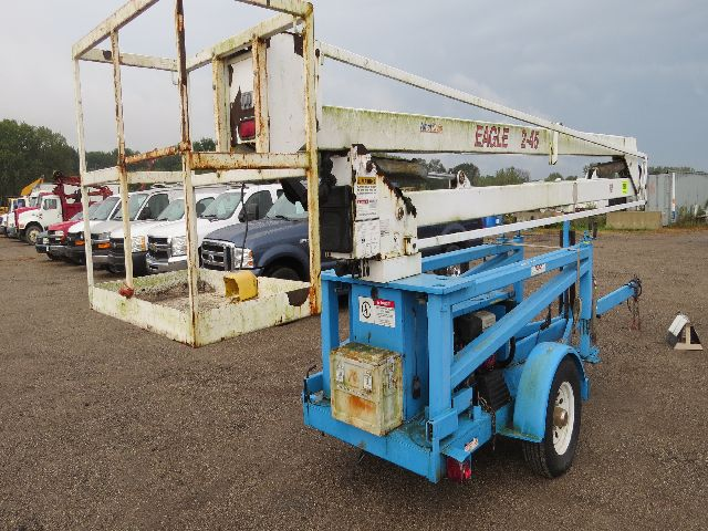 ameriquip eagle 2 45 boom lift trailerble elect basket. Black Bedroom Furniture Sets. Home Design Ideas