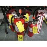 (5) Fire Extinguishers