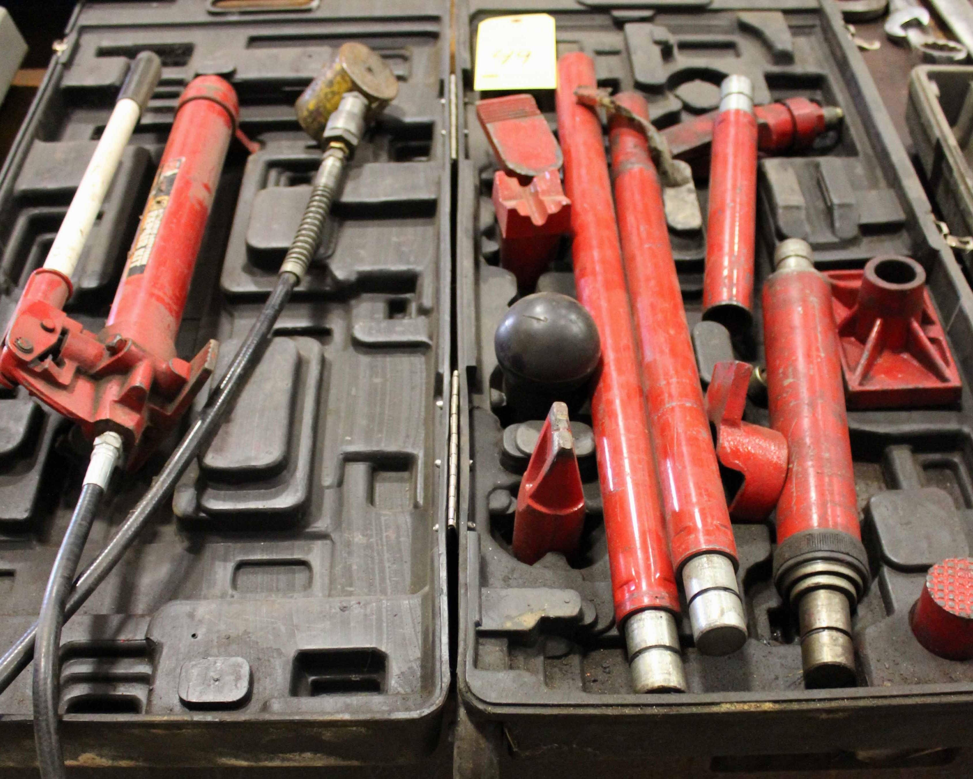 Lot 49 - PORTA POWER, TORIN BIG RED 10 T. CAP. MDL. T71001L