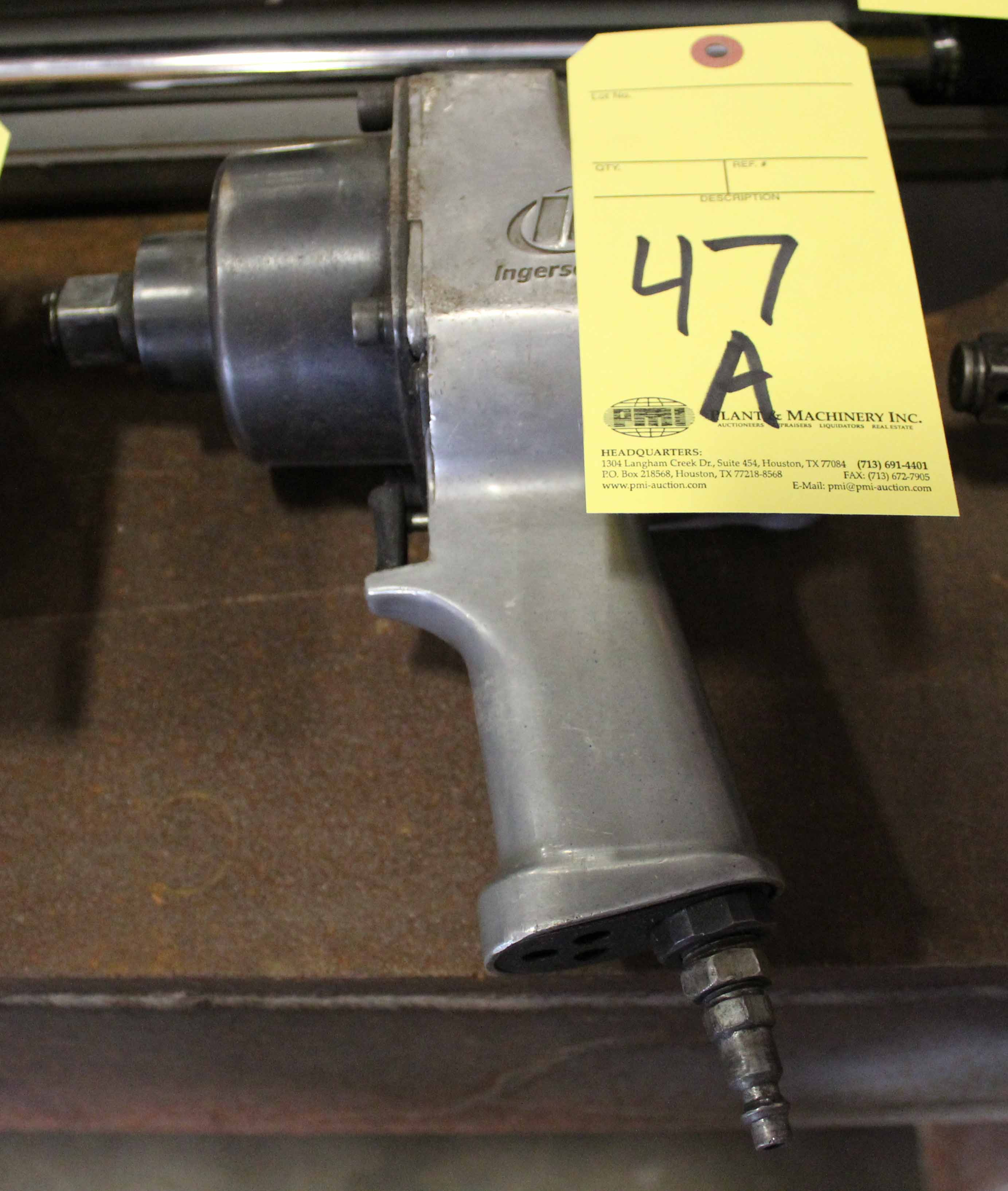 "Lot 47A - IMPACT WRENCH, INGERSOLL RAND, 3/4"" drive"
