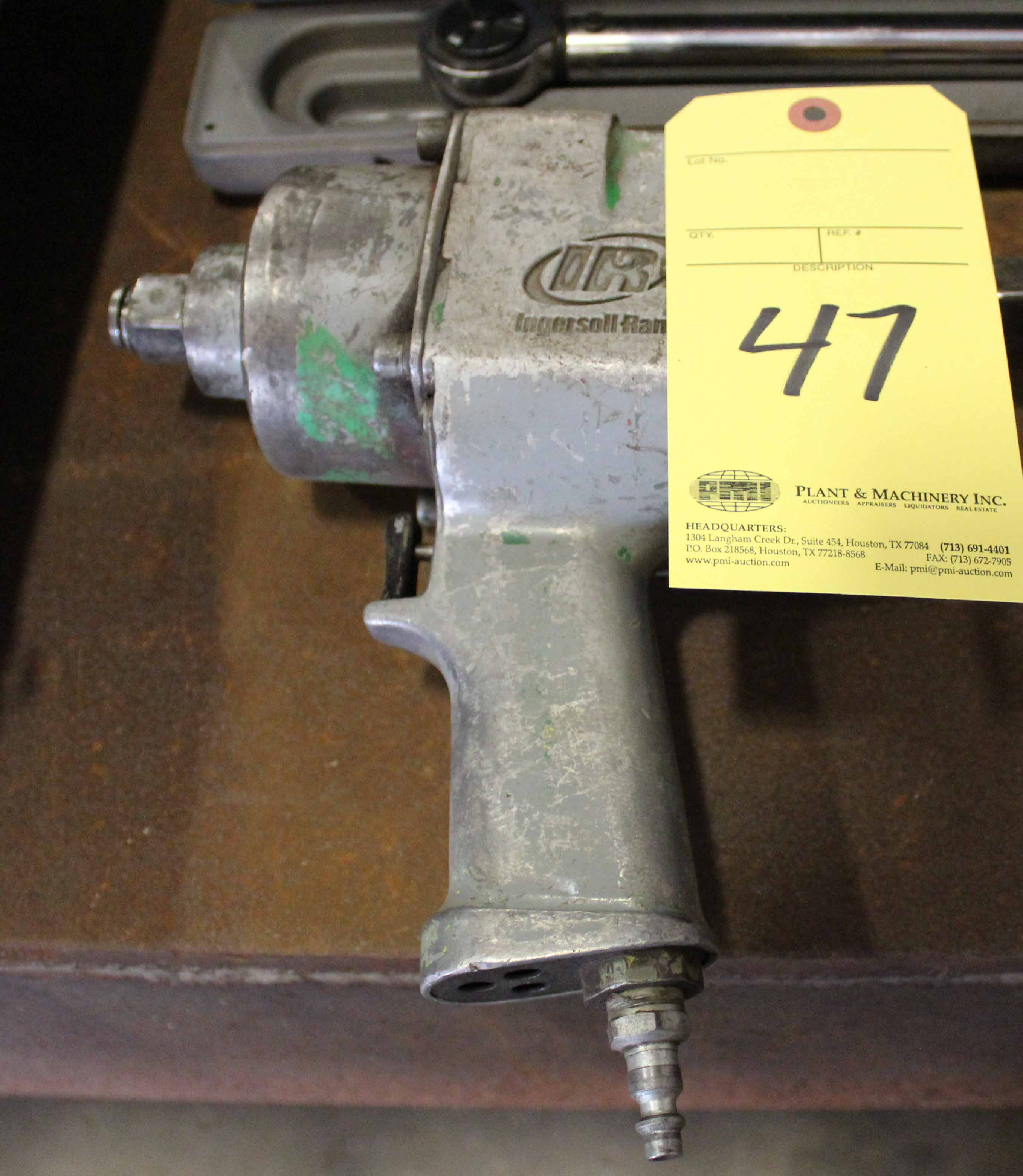 """Lot 47 - IMPACT WRENCH, INGERSOLL RAND, 3/4"""" drive"""