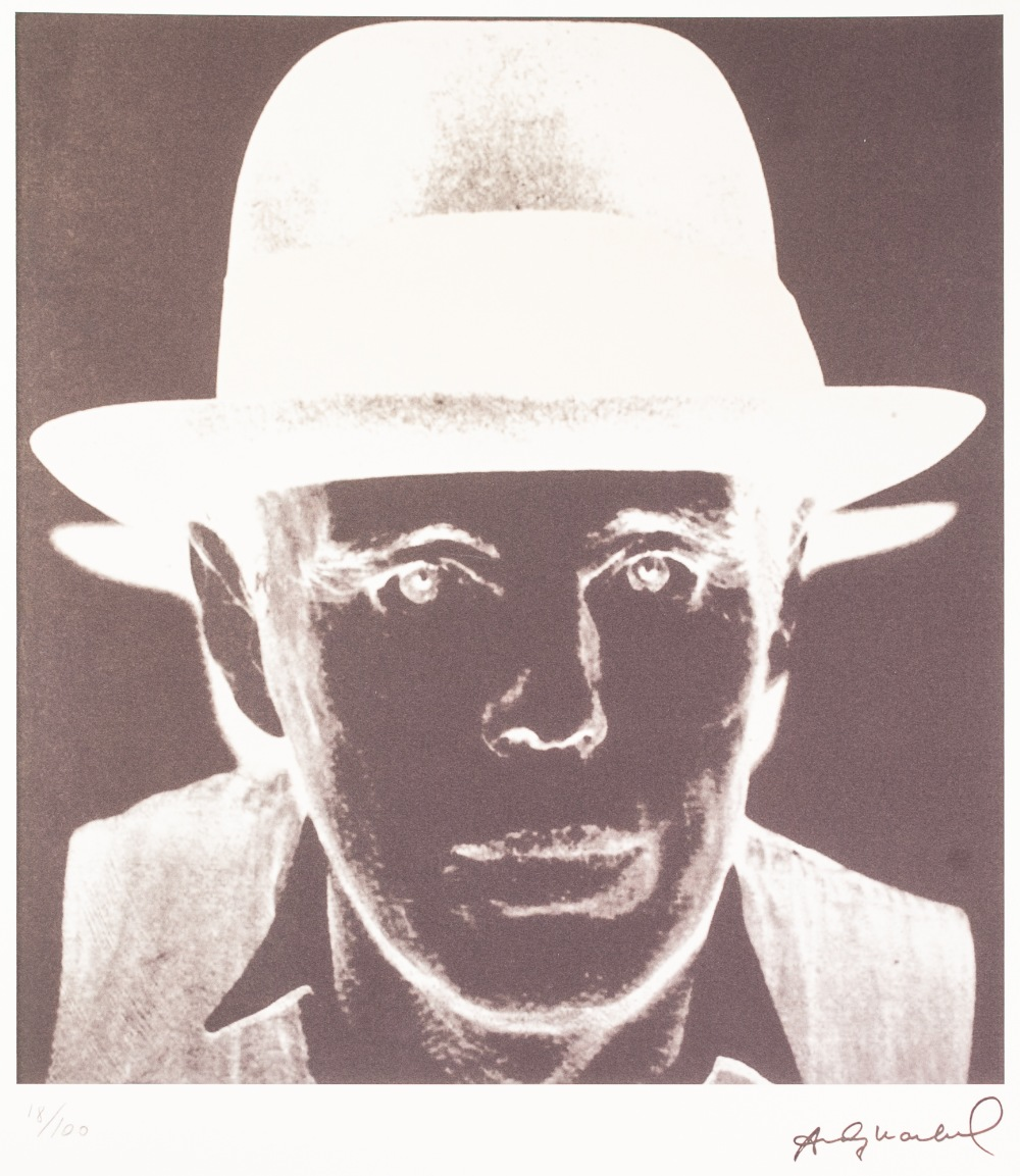 Lot 190 - ANDY WARHOL (AMERICAN 1928 - 1987) LITHGRAPHIC PRINT ON ARCHES PAPER 'Black and white negative