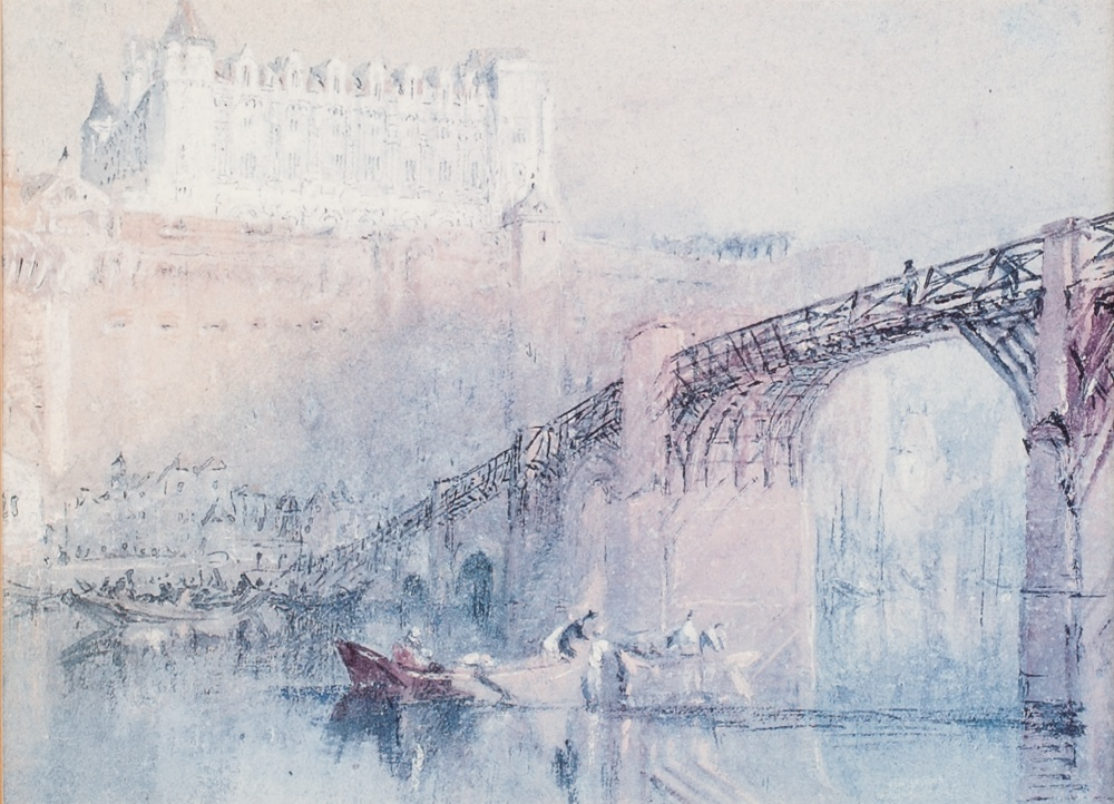 Lot 221 - AFTER J.M.W. TURNER SET OF SIX LIMITED EDITION COLOUR PRINTS FROM OXFORD UNIVERSITY 'THE RIVERS OF