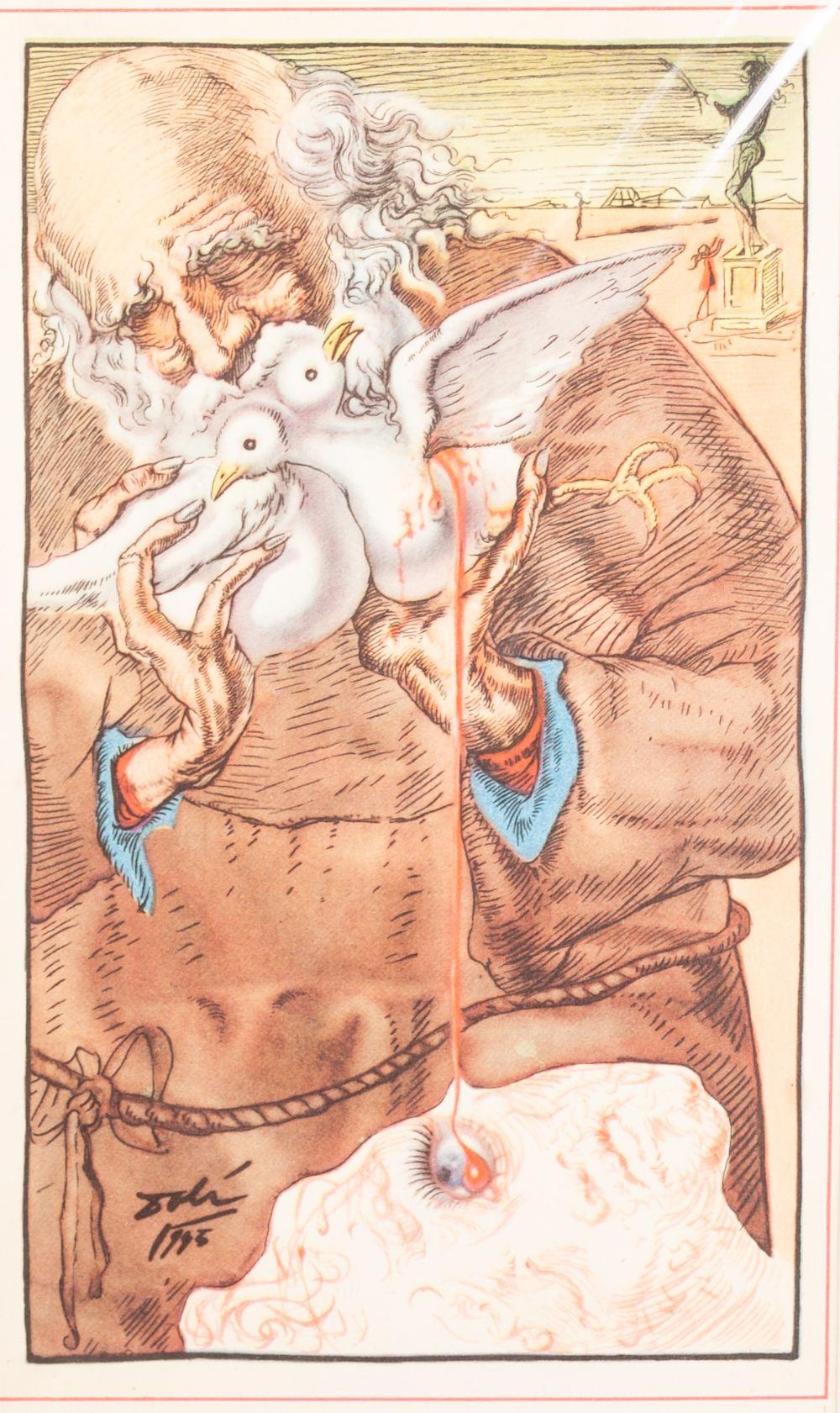 Lot 178 - SALVADOR DALI (Spanish 1904 - 1989) SUITE OF TEN OFFSET LITHOGRAPHS 'Rosalinda', 'Escape', '