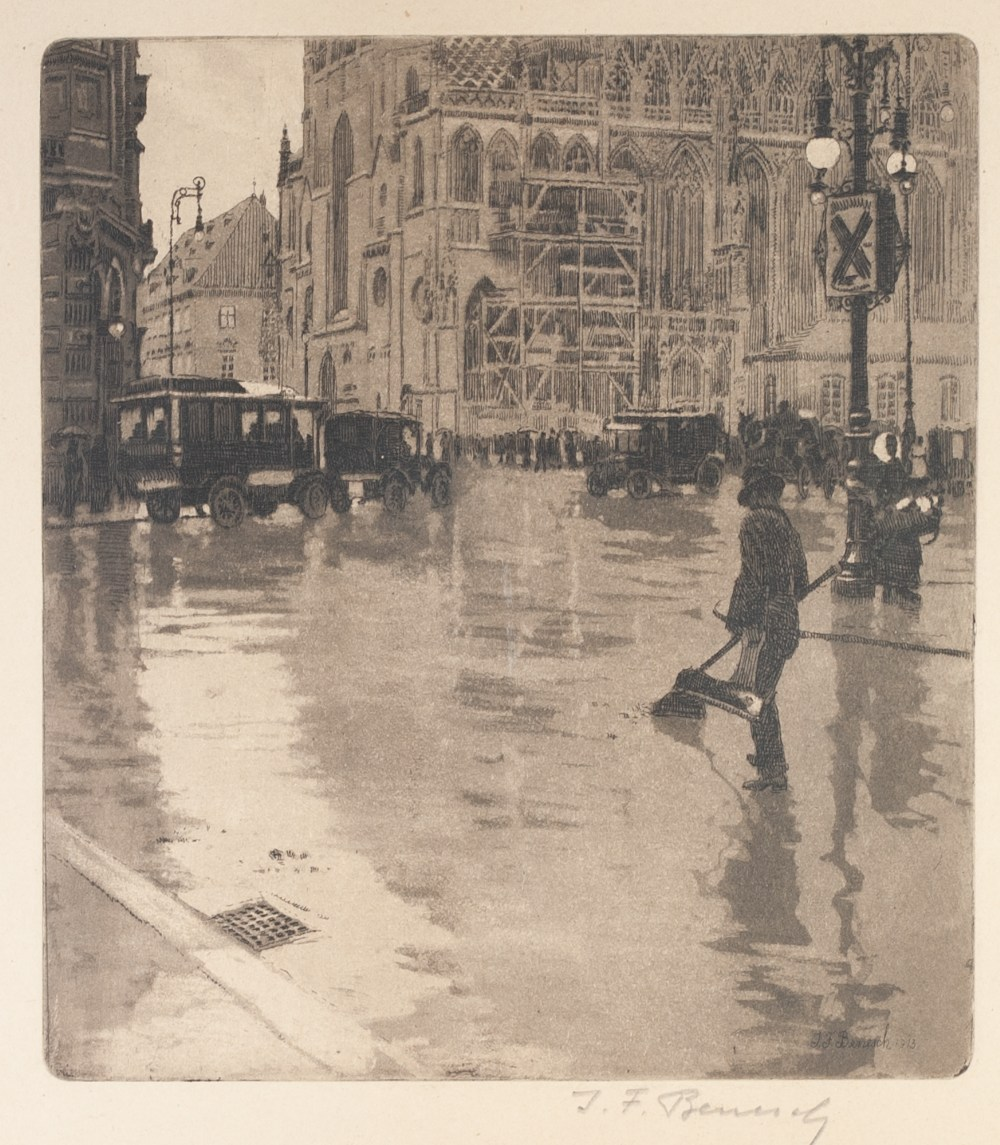 Lot 195 - EARLY 20th CENTURY PHOTOGRAVURE AFTER CAMILLE COROT and fifteen other prints, etc. various