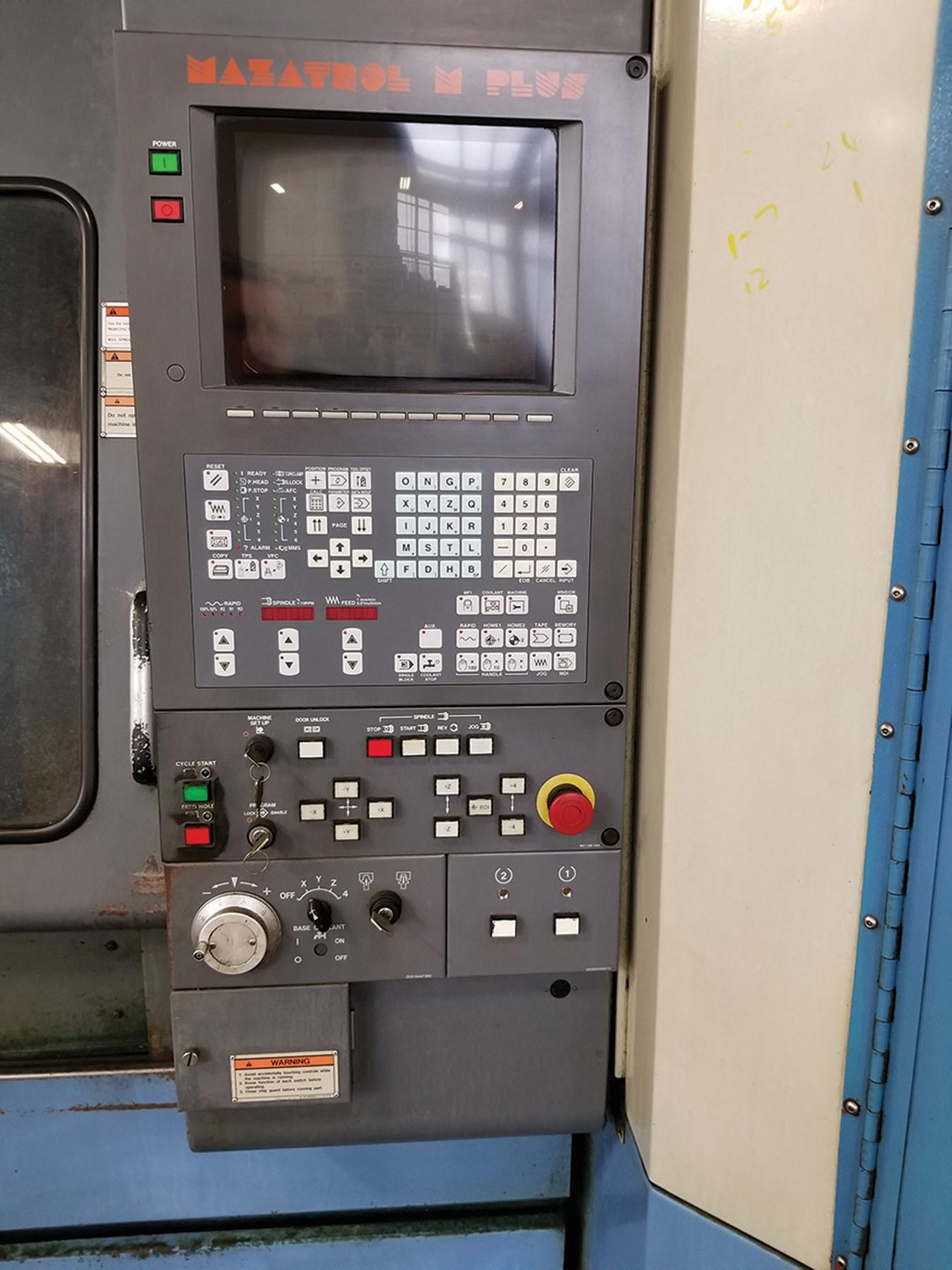Lot 3 - 1992 MAZAK FJV-25 CNC VERTICAL MACHINING CENTER, S/N 134677, TRAVELS: 10.04/20.08'` X-AXIS, 40.