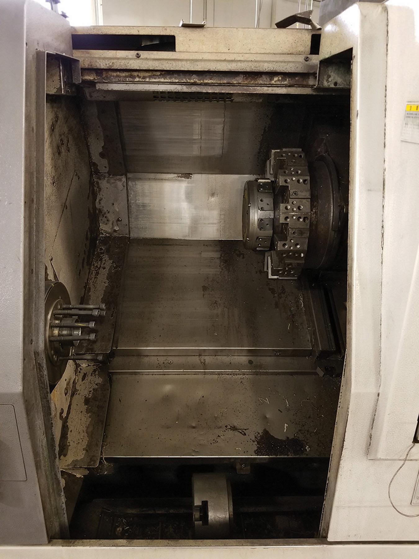 Lot 8 - 1996 MORI-SEIKI SL-204MC CNC LATHE, S/N SL200AK1531, 10-HEAD HORIZONTAL TURRET CHUCK, 12-TURRET