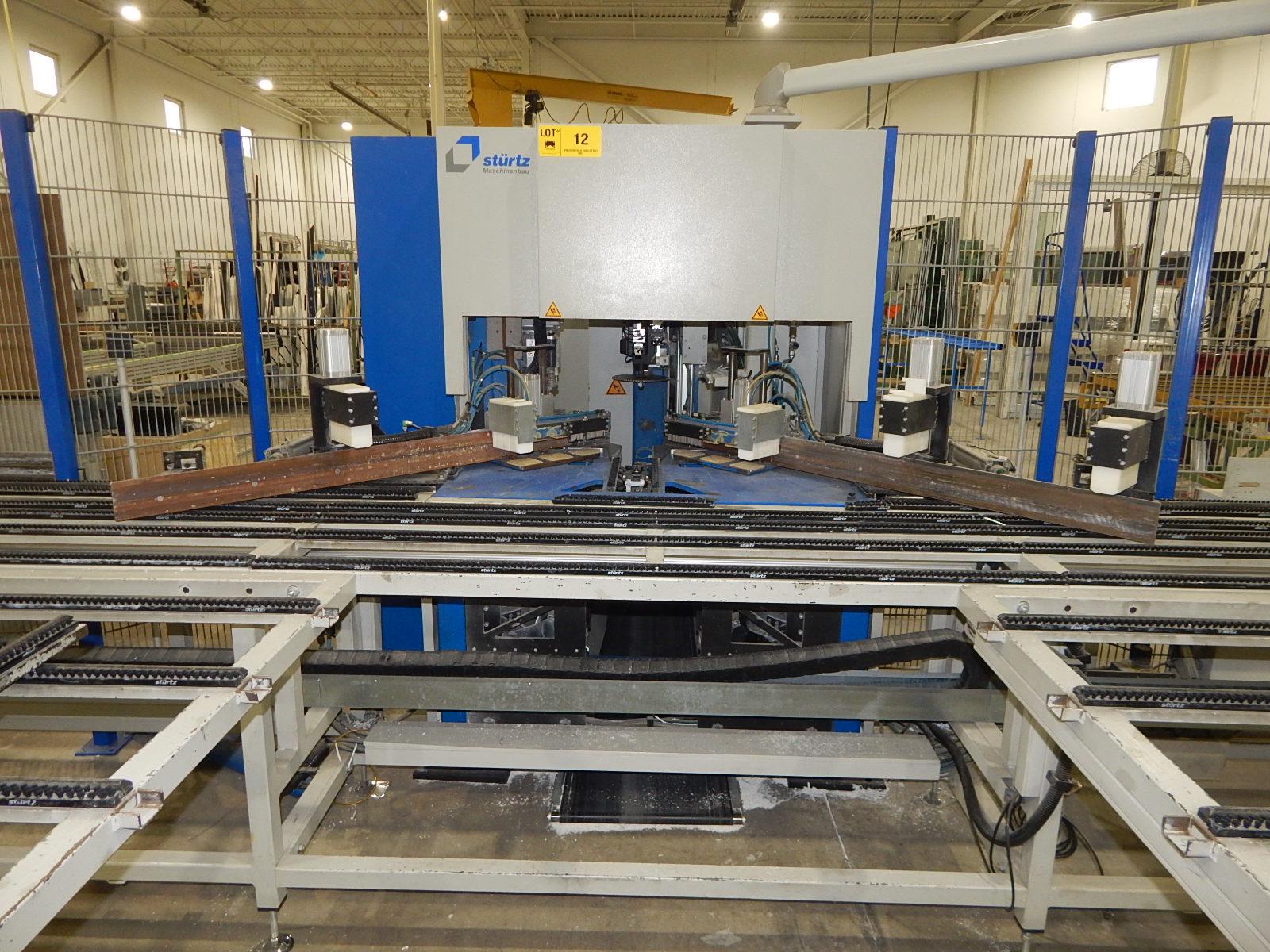 STURTZ (2008) CNC AUTOMATED PVC WELDING AND CLEANING LINE CONSISTING OF, STURTZ (2008) 2MC CNC - Image 5 of 9