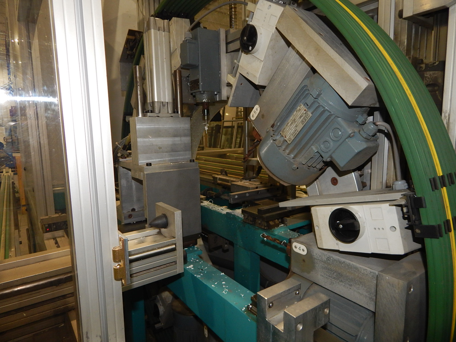 THORWESTERN (2008) PBZ-3 CNC PROFILE MACHINING CENTER WITH WINDOWS PC BASED AR010 TOUCH SCREEN CNC - Image 7 of 9