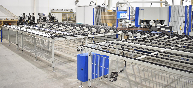 STURTZ (2008) CNC AUTOMATED PVC WELDING AND CLEANING LINE CONSISTING OF, STURTZ (2008) 2MC CNC