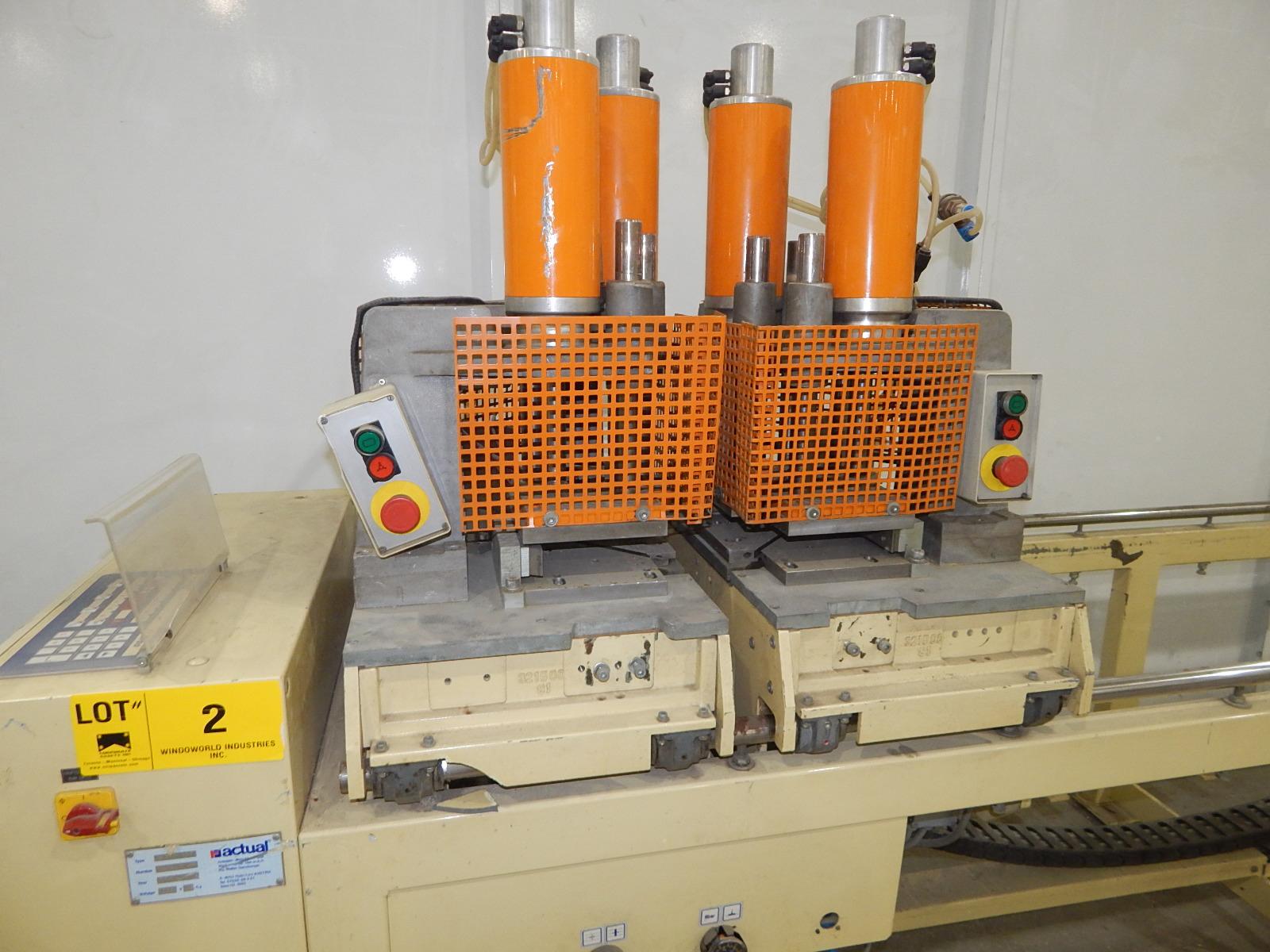 ACTUAL ANLANGEN A 312 S 90 TWIN HEAD 90 DEGREE CORNER WELDERS WITH ACTUAL AC 6700 DIGITAL - Image 2 of 5