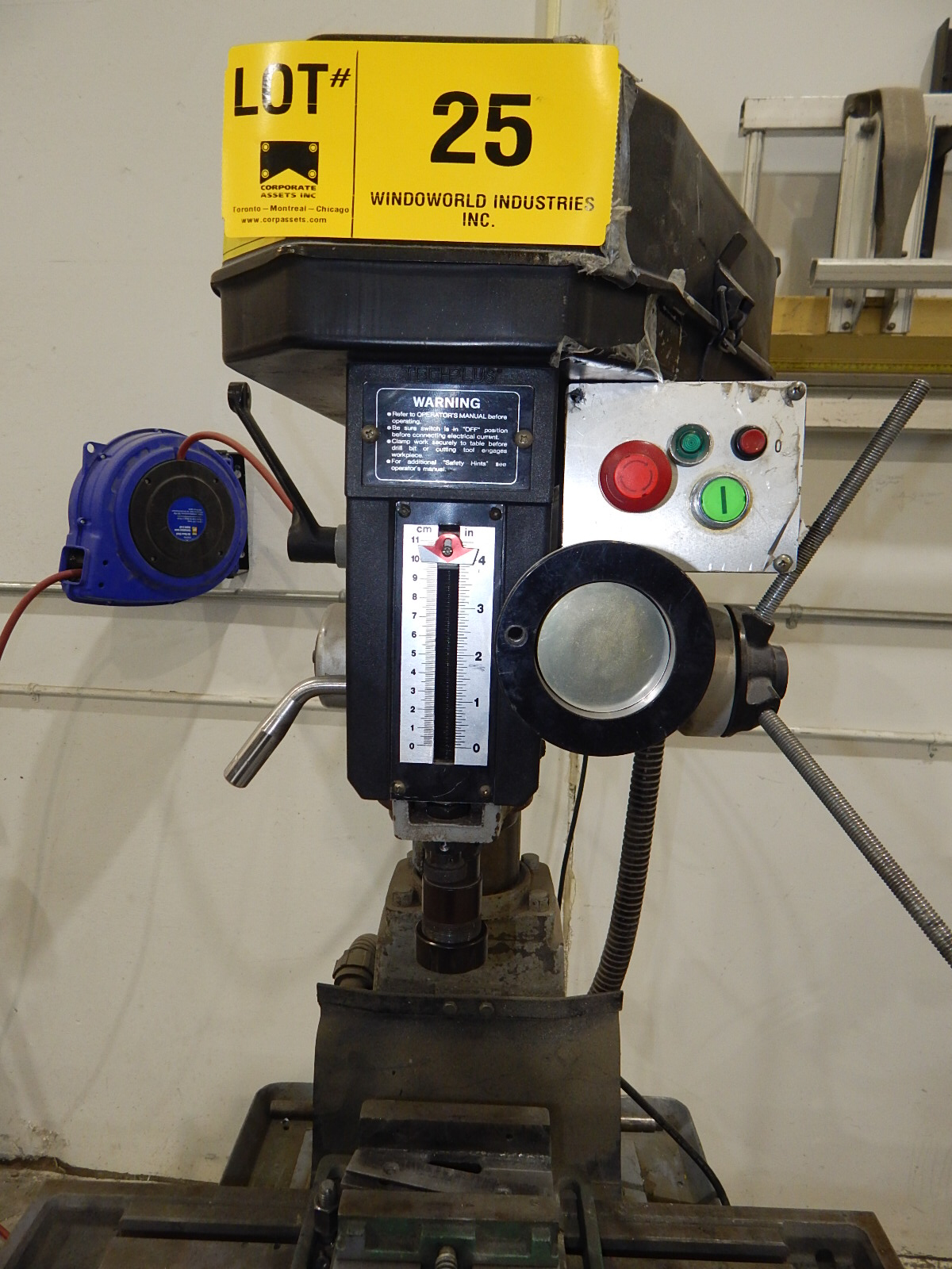 TECHPLUS BENCH TYPE MILLING MACHINE WITH SPEEDS UP TO 2150 RPM S/N: N/A (CI) - Image 5 of 5