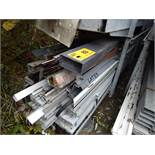 LOT/ ALUPLAST VARIOUS ALUMINUM PROFILE DOOR SILL