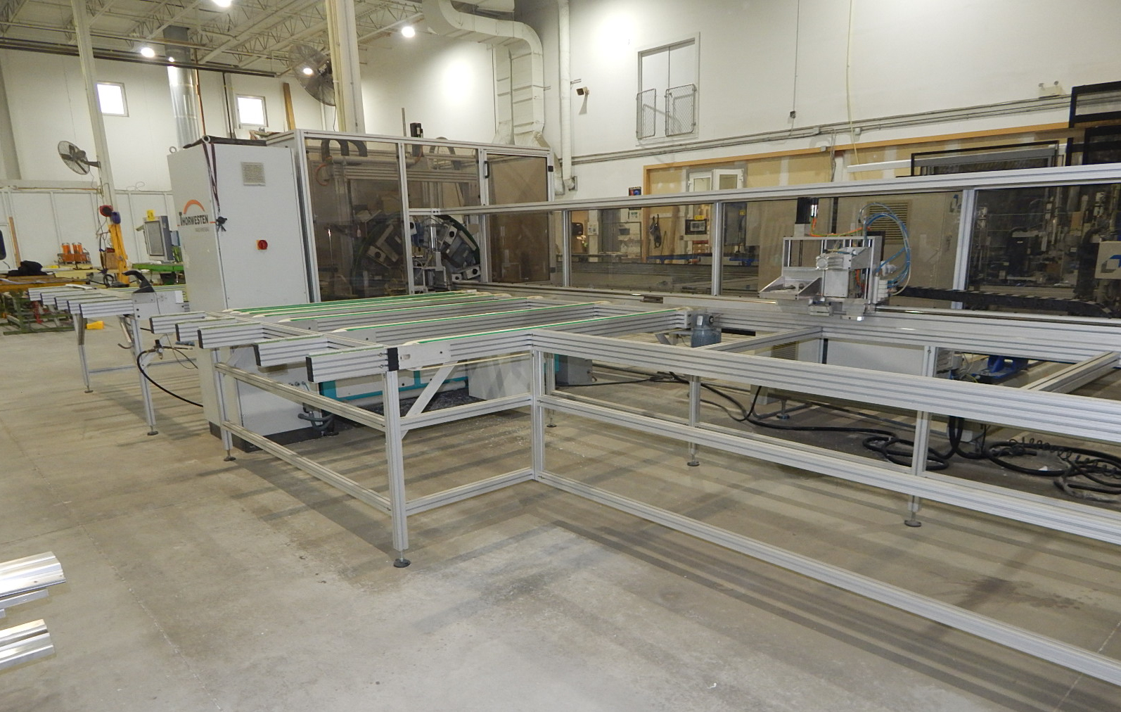 THORWESTERN (2008) PBZ-3 CNC PROFILE MACHINING CENTER WITH WINDOWS PC BASED AR010 TOUCH SCREEN CNC - Image 9 of 9