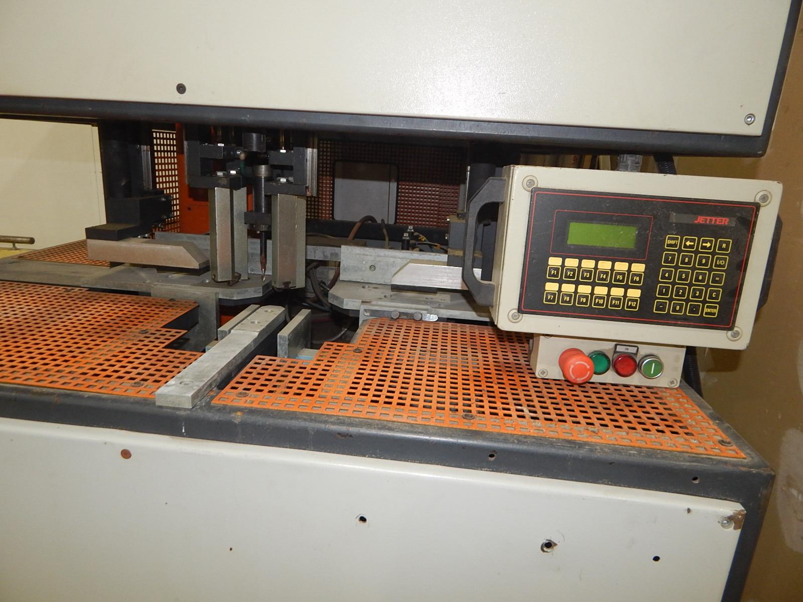 ELUMATEC (2001) TV-873 TRANSOM CLEANER WITH JETTER DIGITAL CONTROL, 400V/3PH/50HZ, S/N: 005 (CI) - Image 2 of 3
