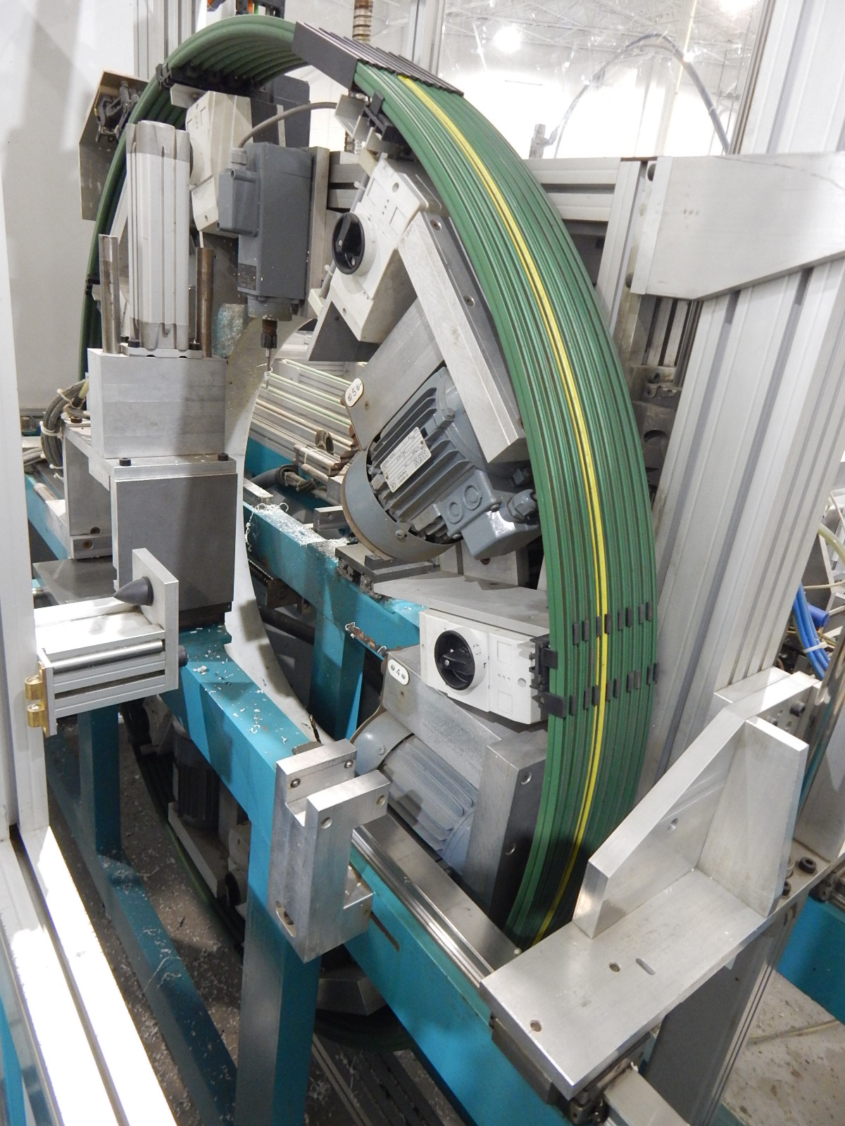 THORWESTERN (2008) PBZ-3 CNC PROFILE MACHINING CENTER WITH WINDOWS PC BASED AR010 TOUCH SCREEN CNC - Image 5 of 9